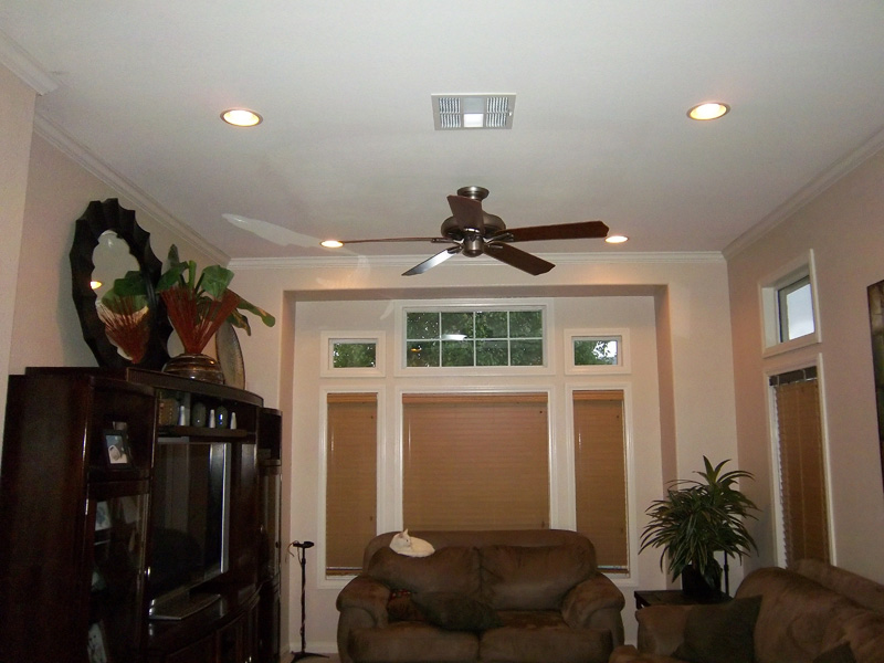 Ceiling Fans Recessed Lights Electrical Trouble Shooting GFCI